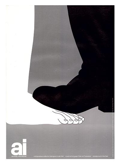 Cartel de Amnistía Internacional