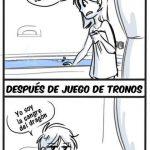 Tomándose un baño: Antes y después de Juego de Tronos