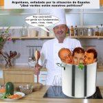 Nueva receta de Arguiñano: Gente sin fundamentos pero ricos, ricos