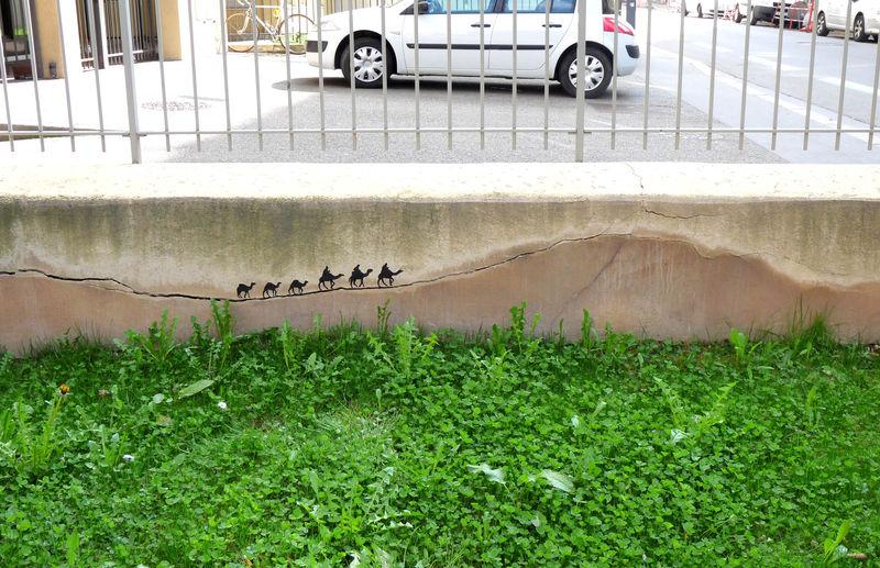 Arte callejero - Reyes magos