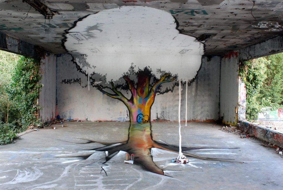 Arte urbano - árbol