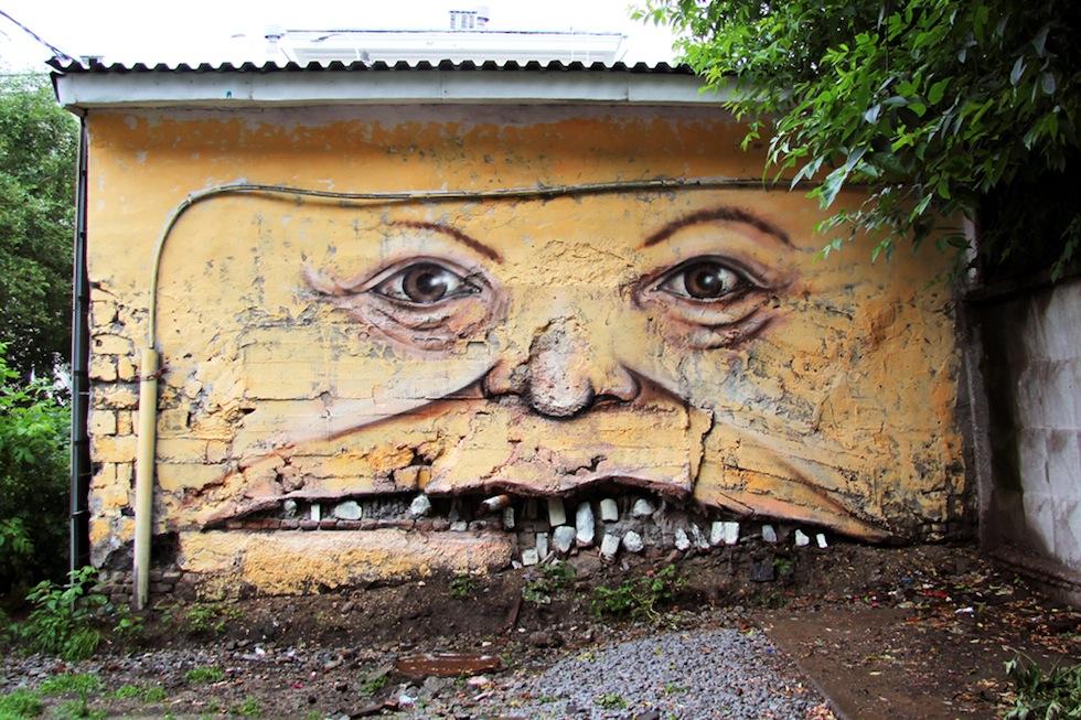 Arte urbano - Boca grande