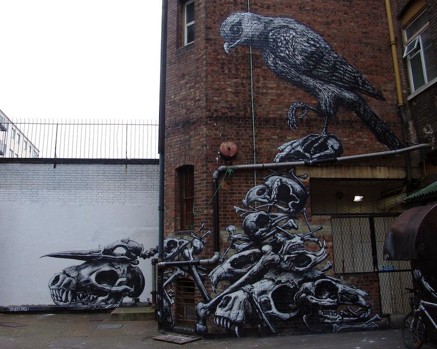 Arte urbano - Calaveras