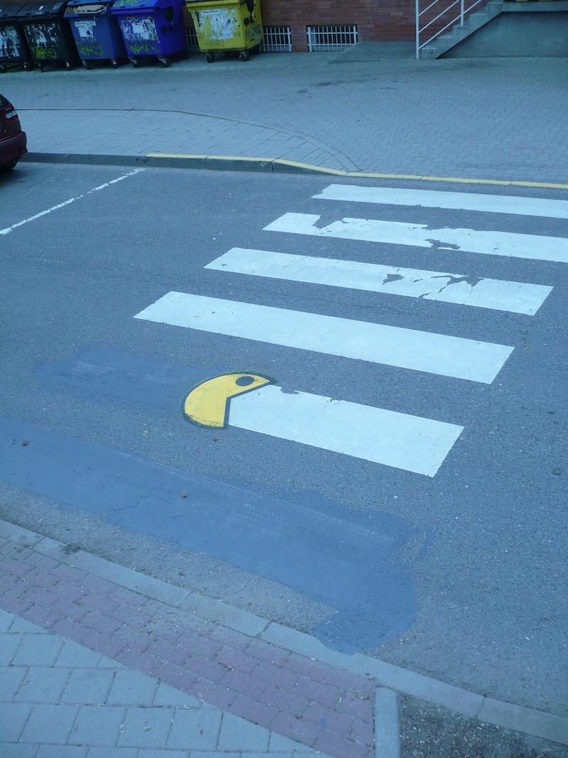 Arte urbano - Comecocos