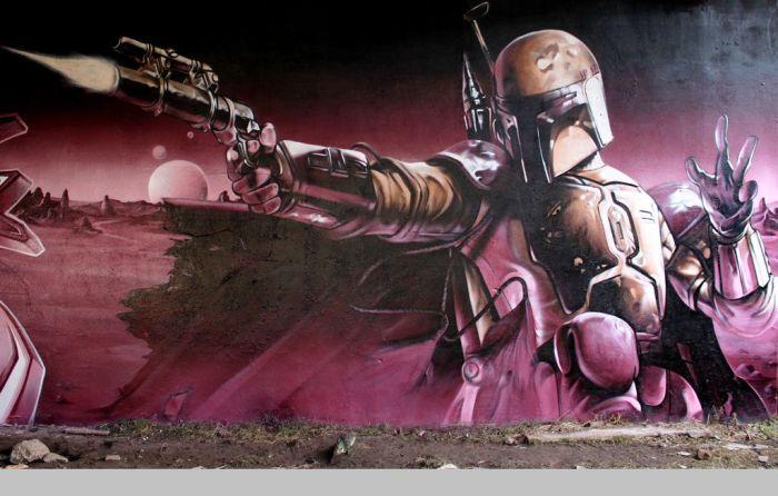 Arte urbano - Ciencia ficción