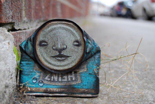 arte urbano lata pintada