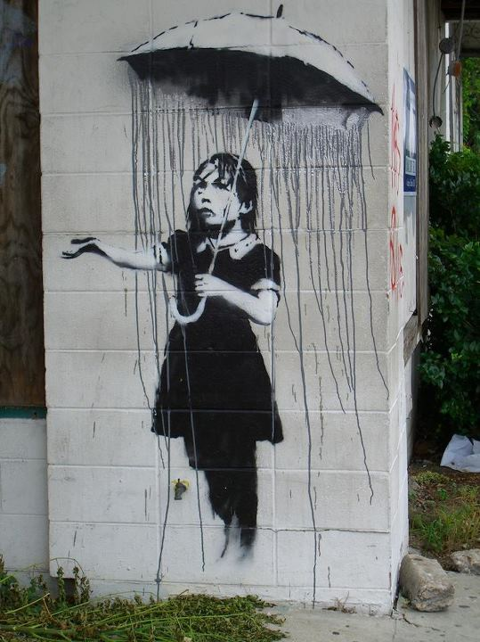 Arte urbano - Lluvia