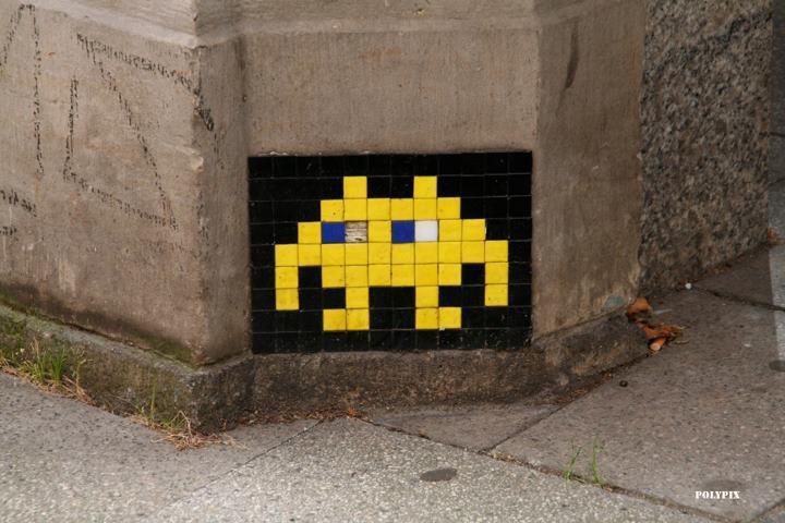 Arte urbano - Marcianitos