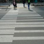 Arte urbano – Paso de peatones musical