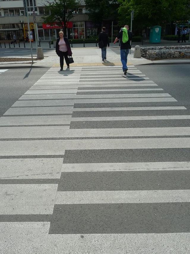 Arte urbano - Paso de peatones musical