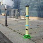 Arte urbano: el pivote-ovni