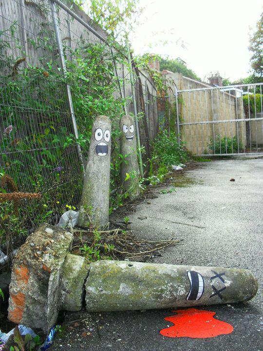 Arte urbano - Pivote muerto
