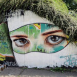 Arte Urbano – Graffiti rostro adolescente