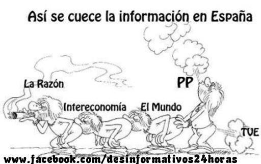 Así se cuece la información en España