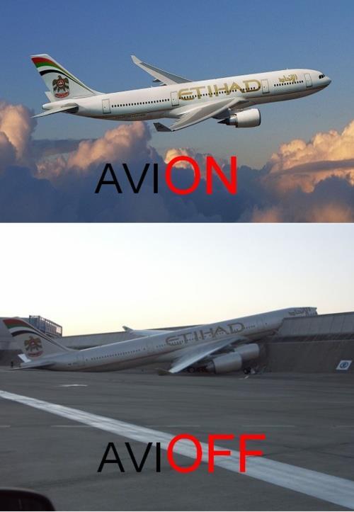 Avión - Avioff