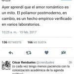 Amor romántico vs amor postmoderno