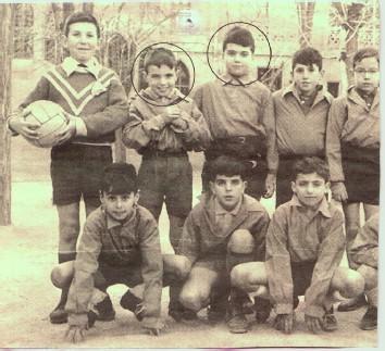 Aznar y Villalonga de niños