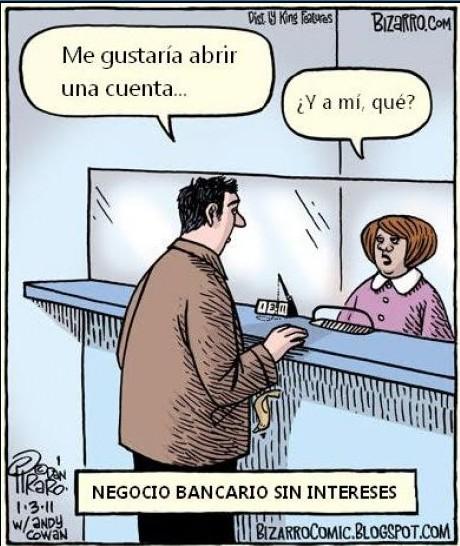 Bancos sin intereses