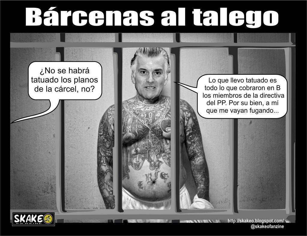 Los tatuajes de Bárcenas