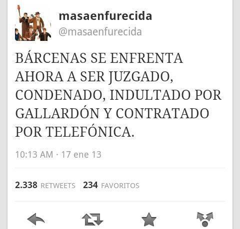 Bárcenas se enfrenta ahora a ser juzgado, condenado, indultado por Gallardón y contratado por Telefónica