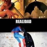Batman y Spiderman – Fantasía y realidad