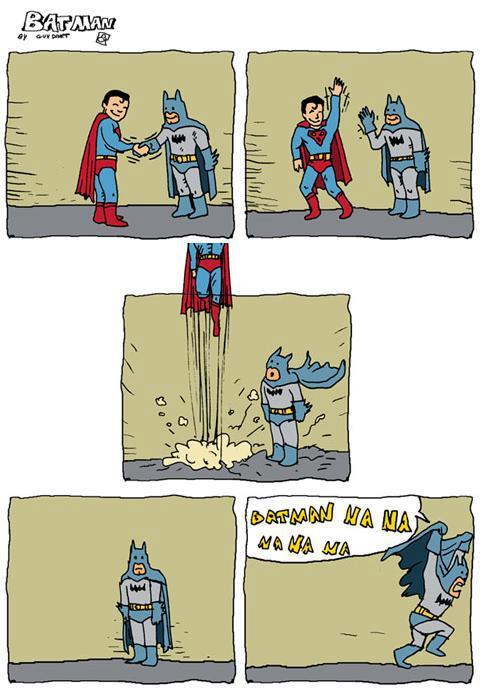 Batman y Supermán se despiden