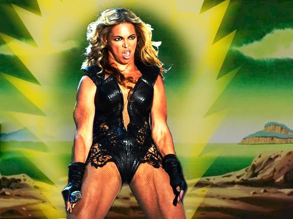 Beyoncé Super Bowl - Superguerrera