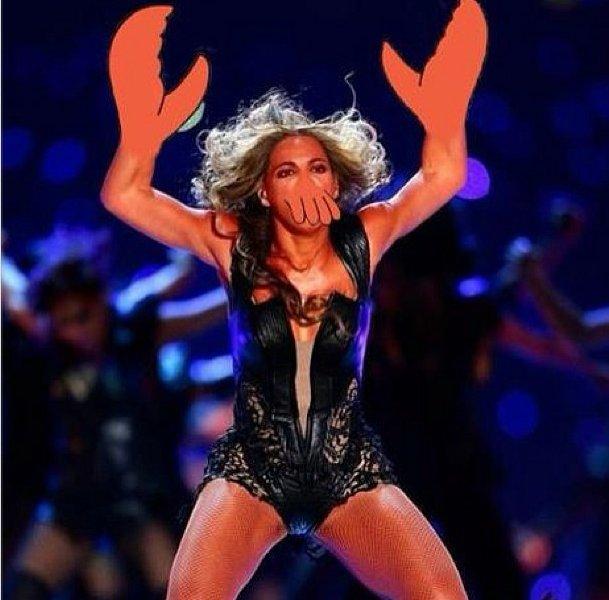 Beyoncé Super Bowl - Zoidberg (Futurama)