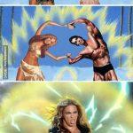 Beyoncé Superbowl – Fusión con Arnold Schwarzenegger