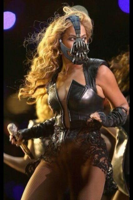 Beyoncé Superbowl - Bane (Batman)