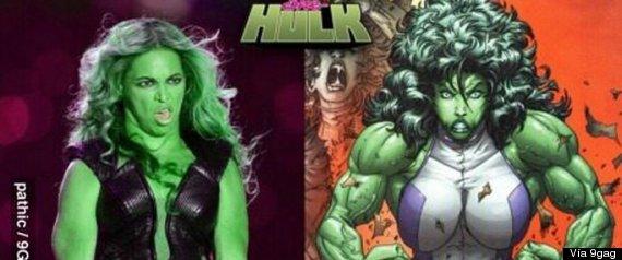 Beyoncé - Hulk