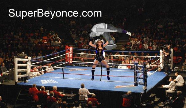 Beyoncé Superbowl - Lucha libre