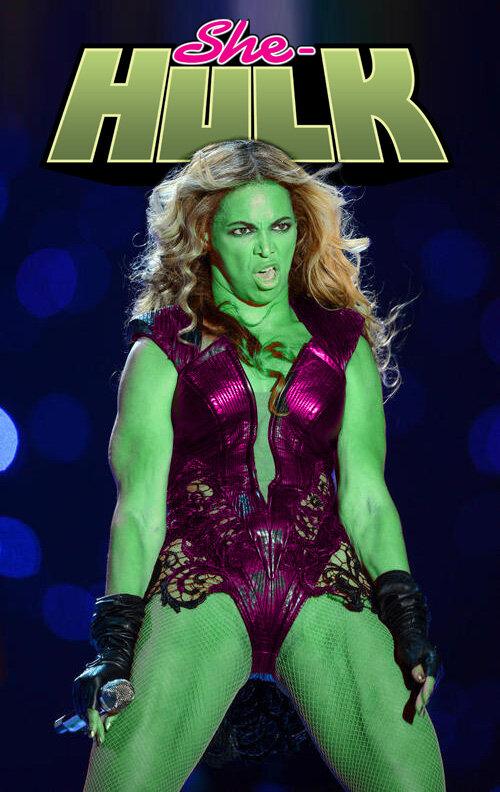 Beyoncé Super Bowl - She-Hulk