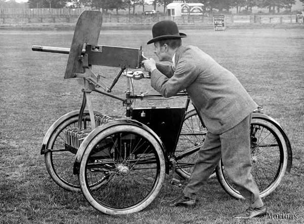 Bicicleta-Mortero