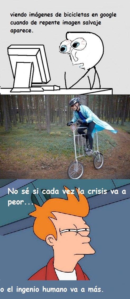 Bicicleta-valla