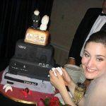 Tarta de boda gamer
