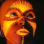 Bodypainting – Cara con pintura fluorescente