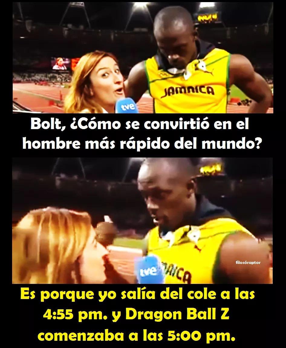 Usain Bolt revela cómo se convirtió en el hombre más rápido del mundo