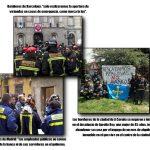 Bomberos de Madrid, Barcelona y A Coruña contra los desahucios