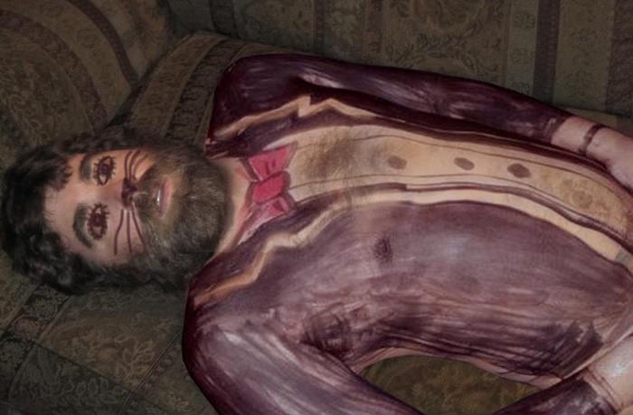 Borracho's body painting, la nueva moda