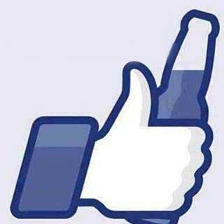boton me gusta facebook cerveza
