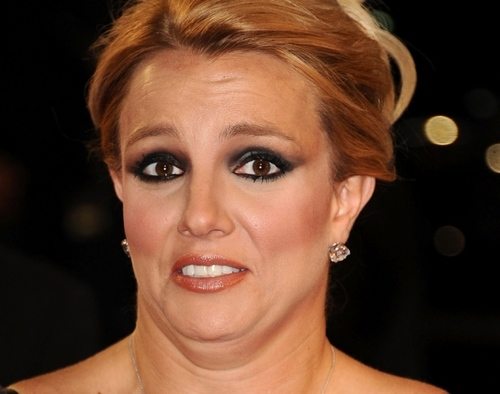 Britney Spears - Cara de grima