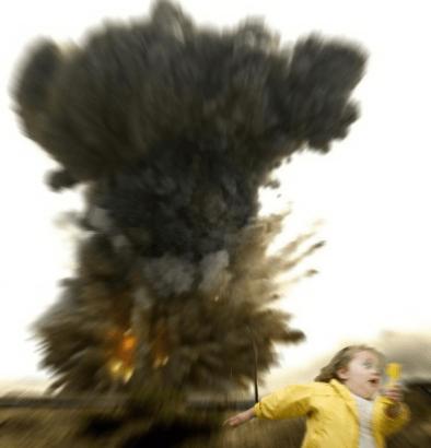 Bubble Girl - Explosión