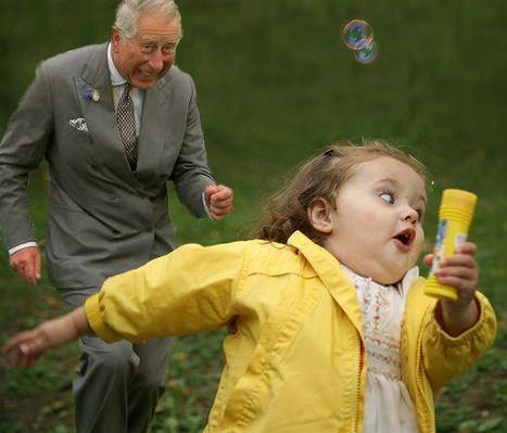 Bubble Girl - Huyendo del Príncipe Carlos de Inglaterra