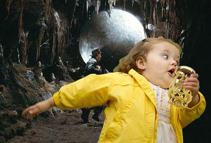 Bubble Girl - Indiana Jones