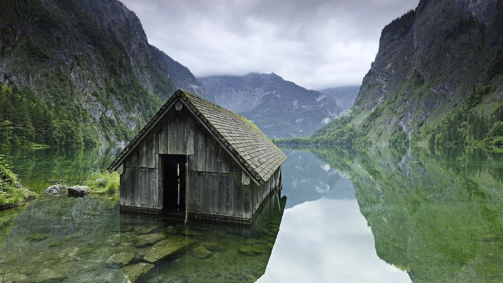 Pequeña cabaña de pescadores (Alemania)