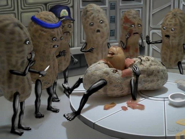 cacahuete alien