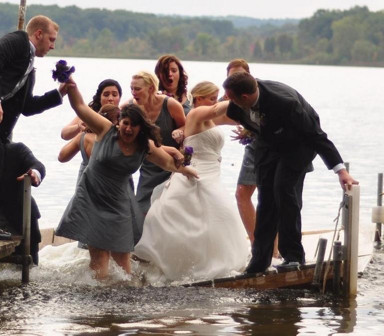 caida embarcadero boda