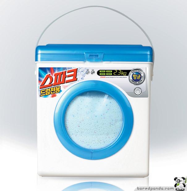Caja de detergente original