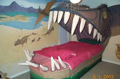 Cama-Dinosaurio